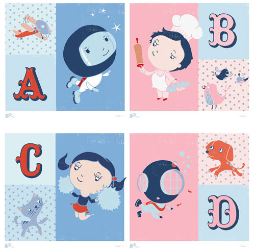 Personalized Wall Art for Girls