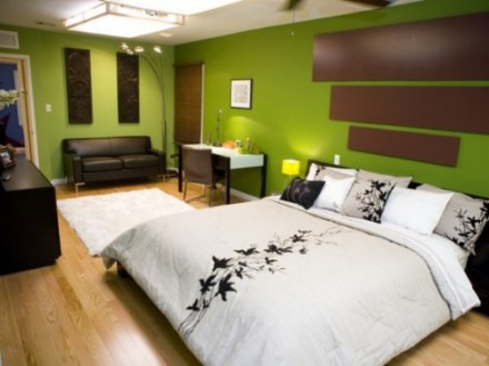 Sage Green Bedroom Photo
