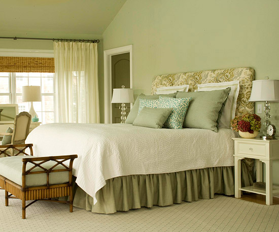 Sage Green Master Bedroom