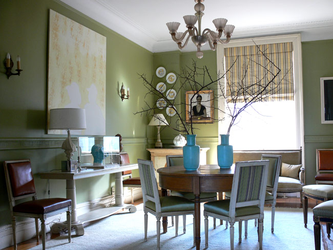 sage green rooms for shade and cozy house