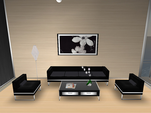 Simple Living Room Interior Design