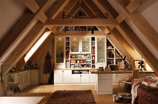 Small Attic Design Ideas