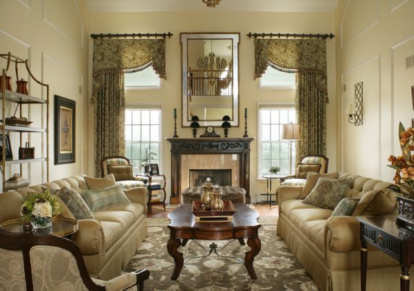 Traditional Living Room Decorating Ideas Picture