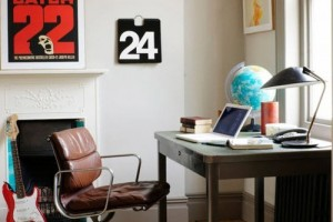 Vintage Office Decorating Ideas Picture