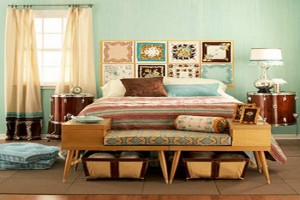 Vintage decorating Ideas Bedroom