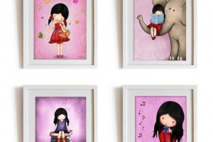 Wall Art for Nursery Girls