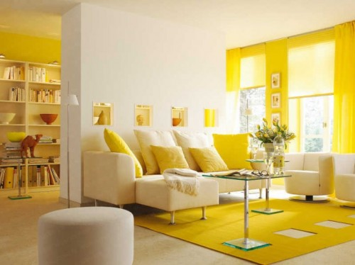 Warm Colors for Living Room