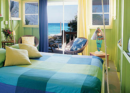 Blue Green Bedroom Paint