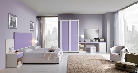 Purple selections for men 39 s bedroom design for Bedroom designs for young men