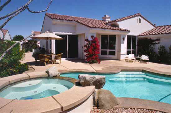 Backyard with Swimming Pool Pictures