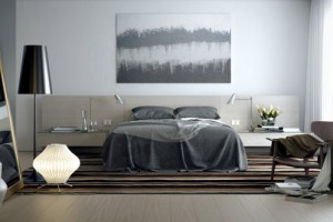 Bedroom Color Designer Grey Photo