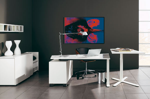 Black and White Office Furniture