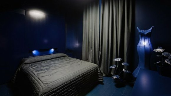 Blue Colored Bedroom Color Combinations