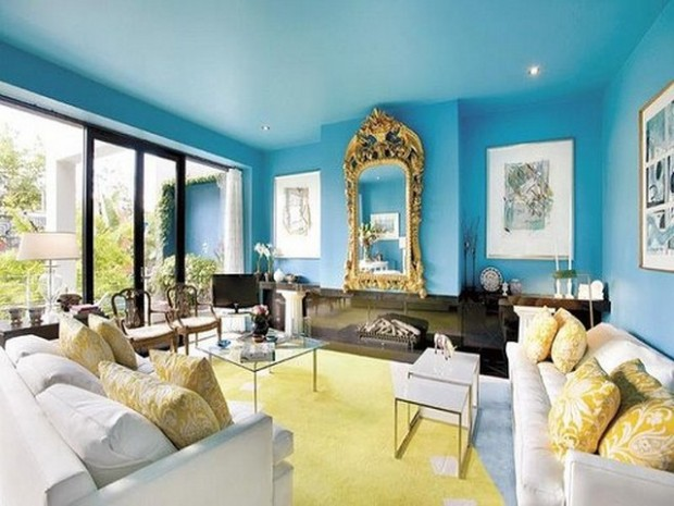 Blue Living Room Color Ideas