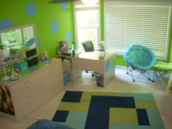 Blue and Lime Green Bedroom Ideas