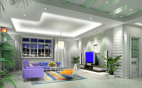 Ceiling Pop Design for Living Room