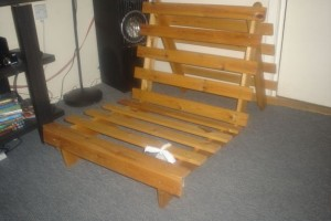 Collapsible Wooden Bed Frame