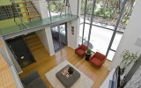 <b>Double Height Living Room Interior and Decoration Ideas</b>