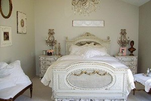 French Inspired Decor Bedroom