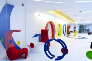 Google Office Interior Designs Pictures for Happy Work