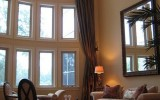 <b>High Ceiling Designs with Windows and Curtains</b>