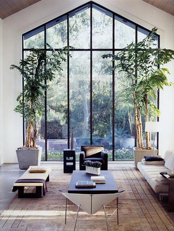 High Ceiling Window Designs