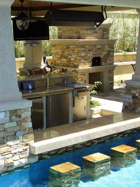 Home Swimming Pool Bar