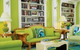 <b>Freshener Lime Green Rooms in Natural House</b>