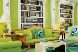 Ideas for Lime Green Rooms