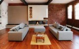 <b>Living Room Decorating Ideas Traditional with Brown and Wood</b>