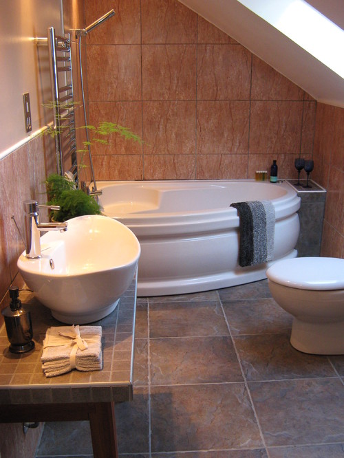 Interior Design Small Spaces Bathroom