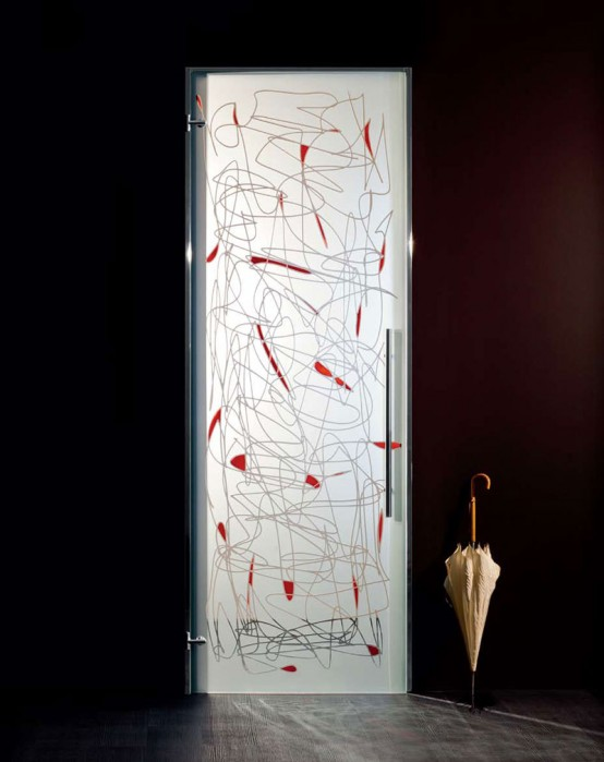 Interior Door Design Glass