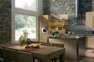 Interior Wall Cladding Ideas Wood and Stone