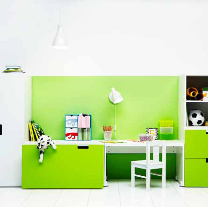 Kids Lime Green Rooms