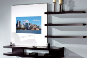& LCD TV Wall Cabinet Designs