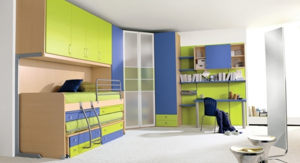 Lime Green Bedroom Kids
