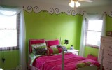 <b>Lime Green Bed Room Kids -- Fresh and Cool</b>