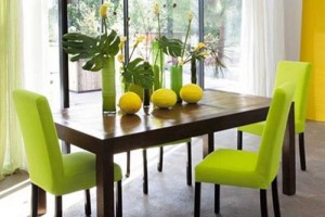 Lime Green Rooms