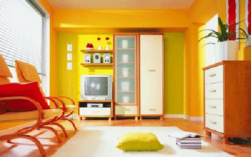 Living Room Colour Schemes 2012