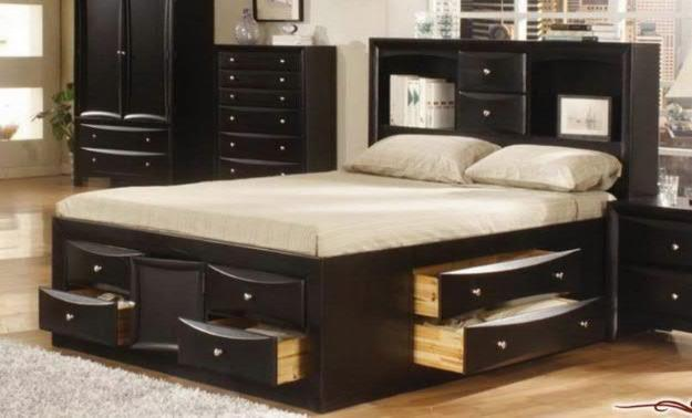 Making a Bed Frame with Storage