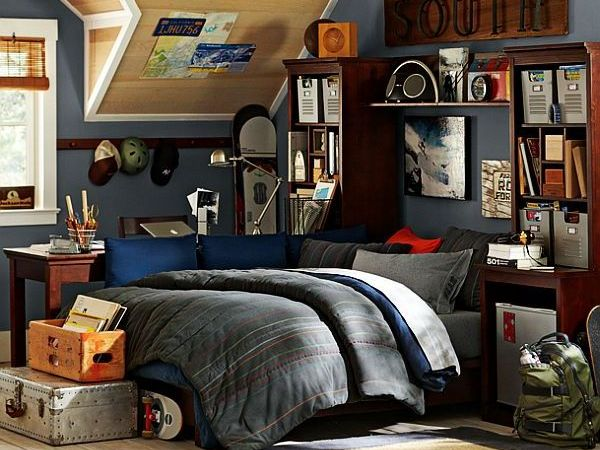 Guys Bedroom Designs Ideas with Attractive Themes