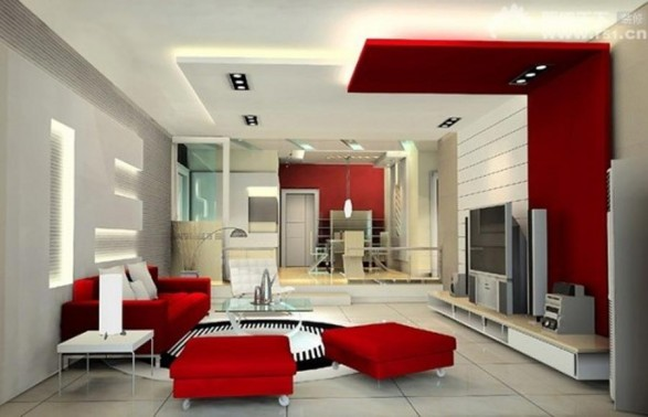Modern False Ceiling Designs for Living Room