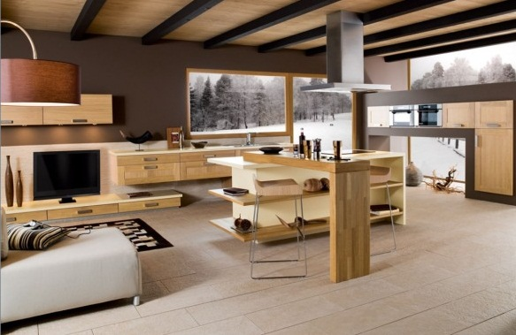 Modern French Kitchen Decor