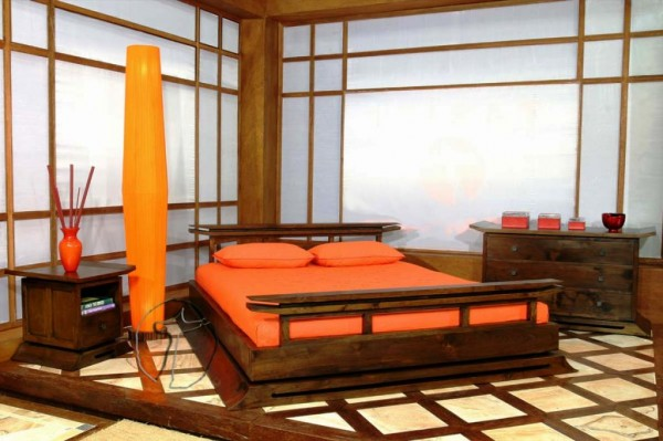 Modern Japanese Bedroom Design