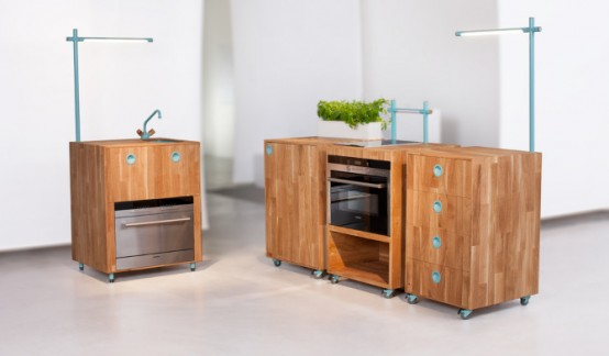 Modular Kitchen Small Spaces