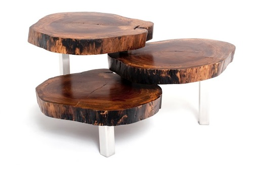 Natural Wooden Coffee Tables