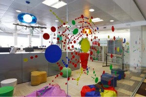 Pictures of Google Office
