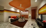 <b>Pop Fall Ceiling Design for Drawing Room</b>