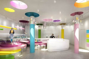 Pop Design for Office Ceiling Decoration