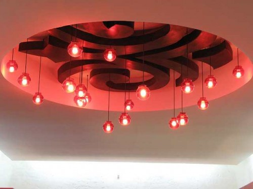 Pop Fall Ceiling Design for Drawing Room